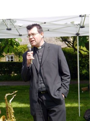 Vicar Opening the Fete