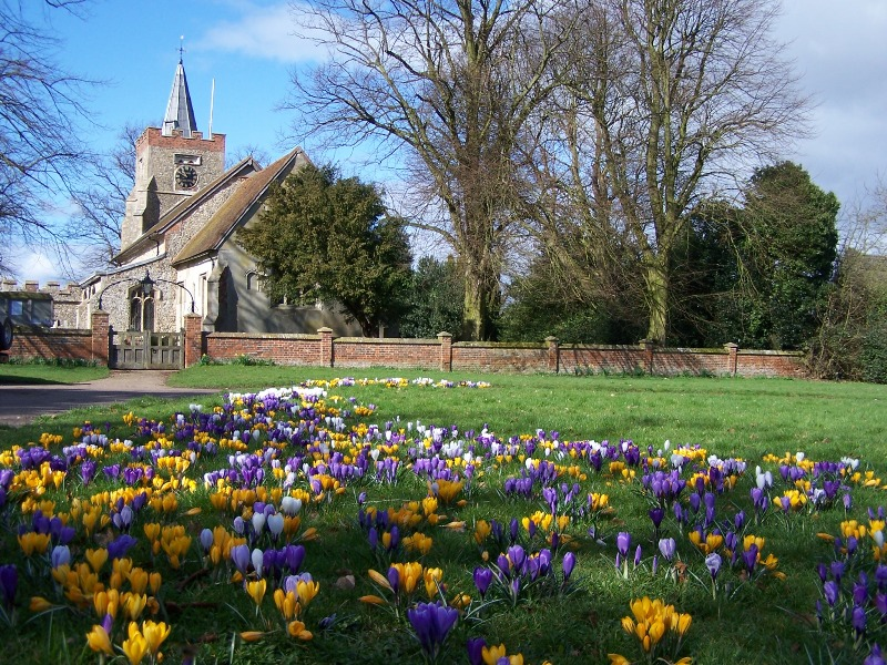 Spring time at the church