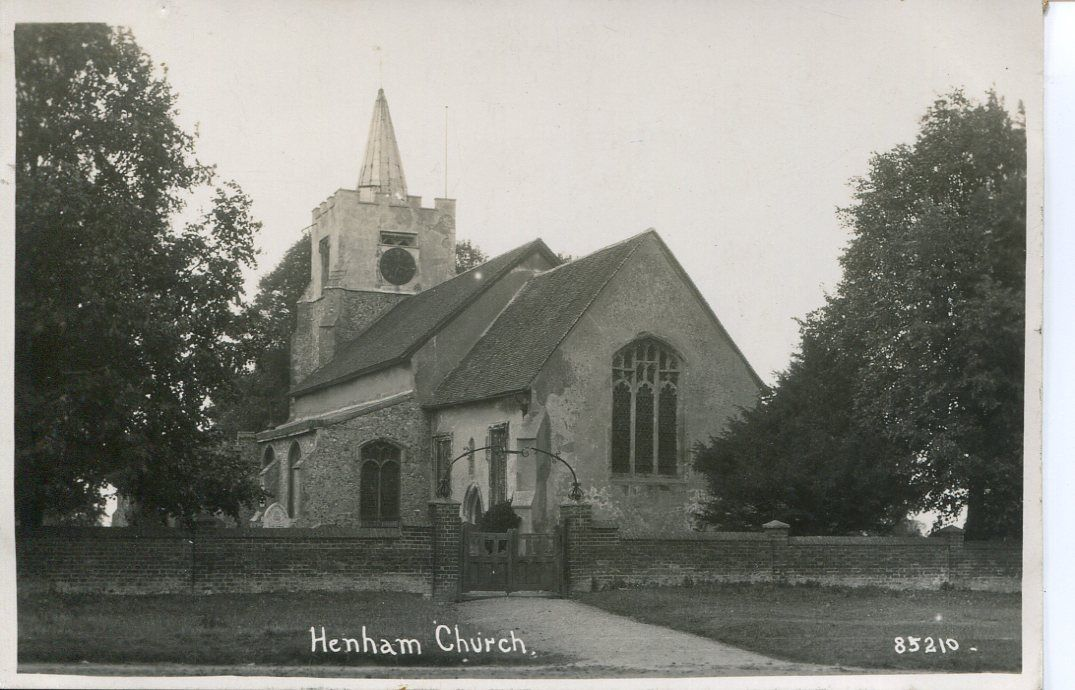Henham church