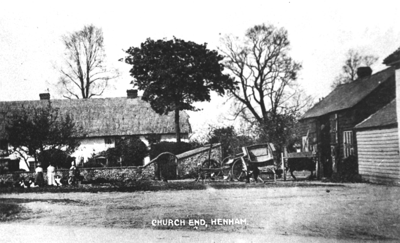church end 1907