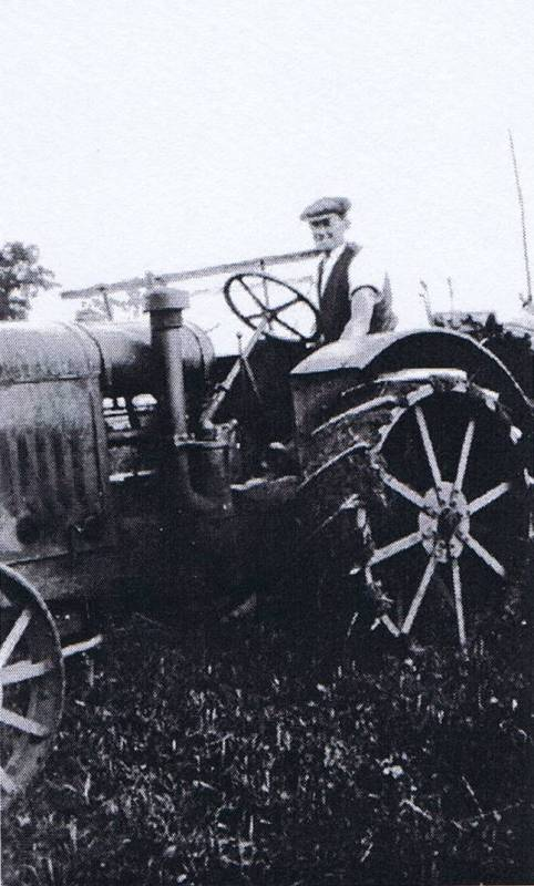 the new tractor 1938