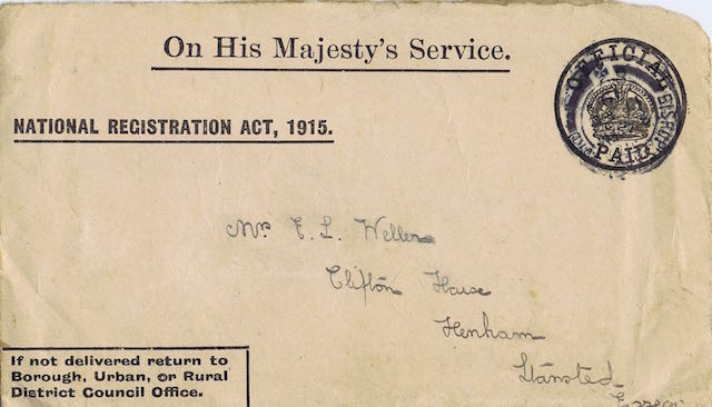 1915 registration clifton house