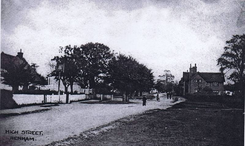 high street early 1900s