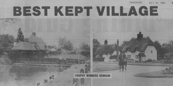 1980 best kept village