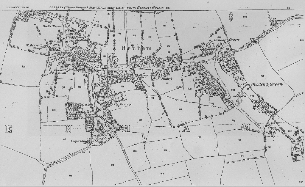 1877 Henham map