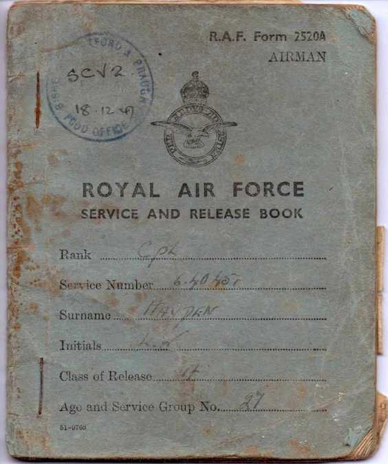 air force passbook