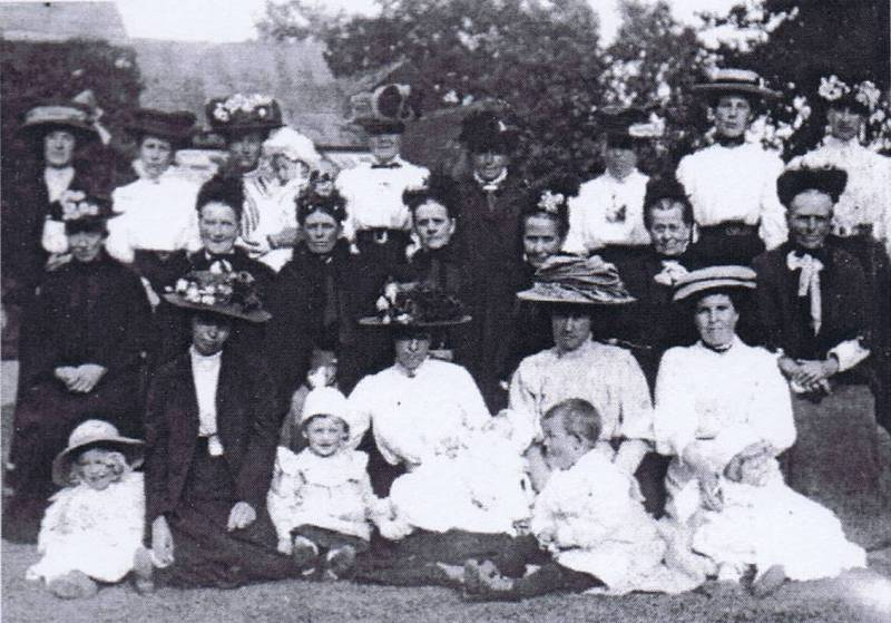 group of unknown henham residents