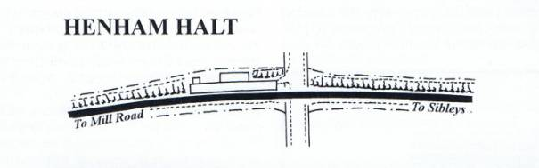 Henham Halt Drawing