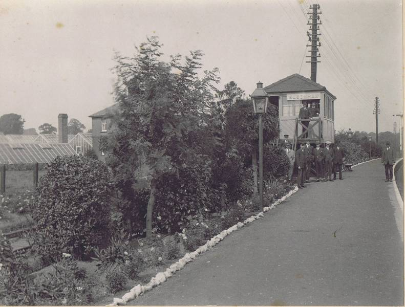 elsenham station 1927
