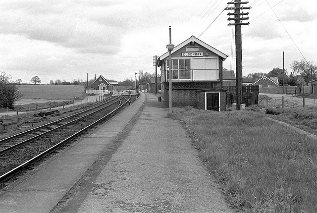 Elsenham Signal Box