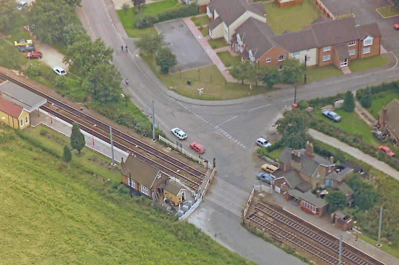 elsenham station aerial