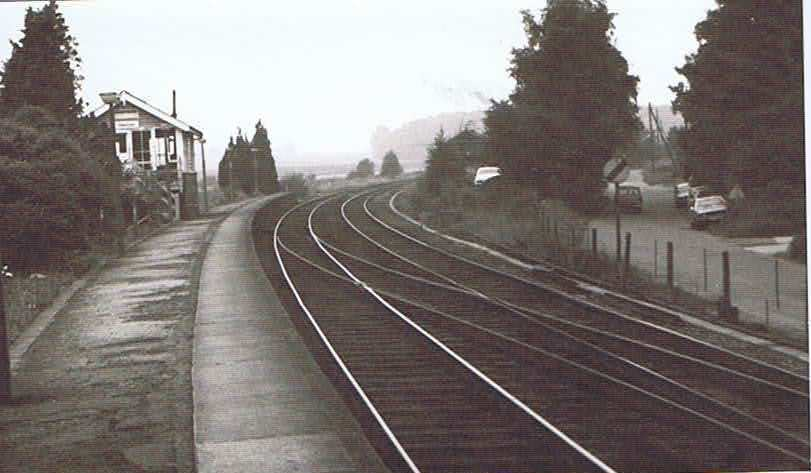 Photo of Elsenham Station in 1982