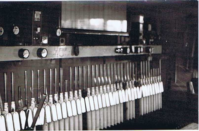 Inside the signal box