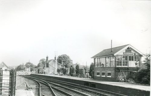 crossing and signal box