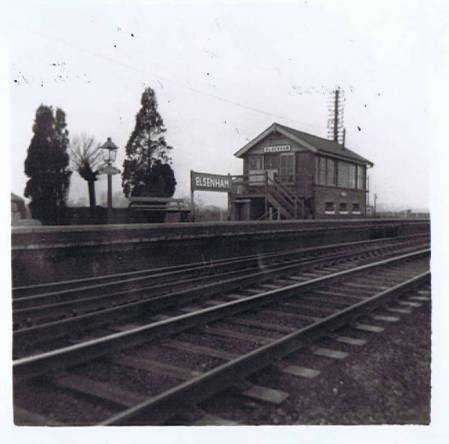Elsenham Signal Box 1964