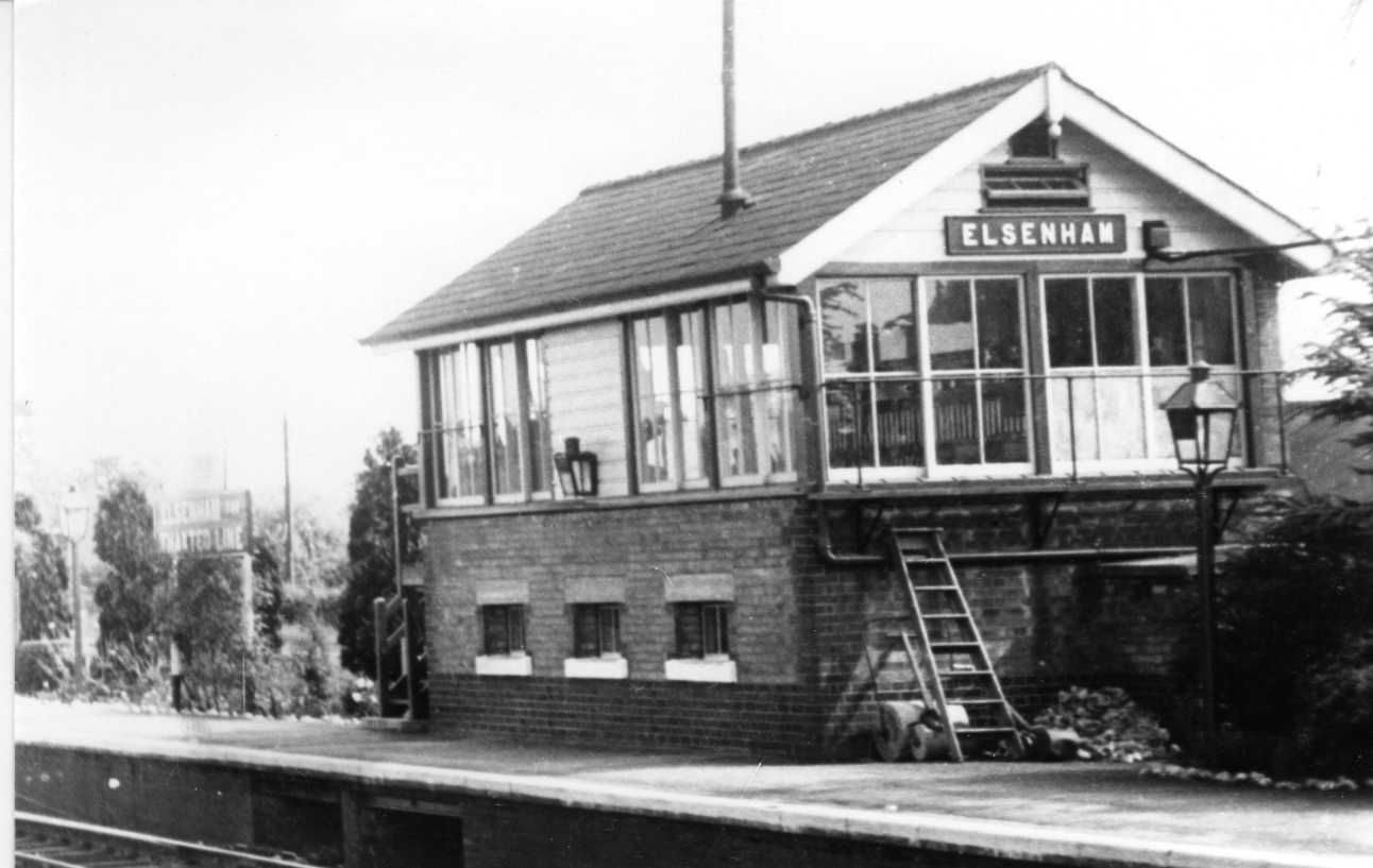 June 1951 Elsenham Signal Box