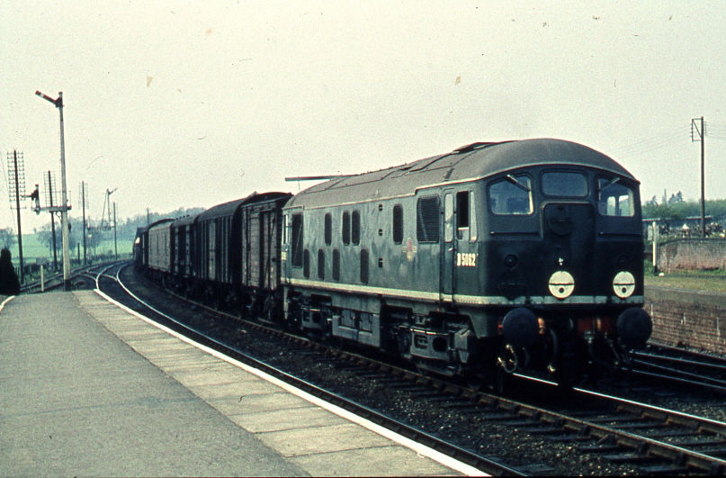 Train through Elsenham
