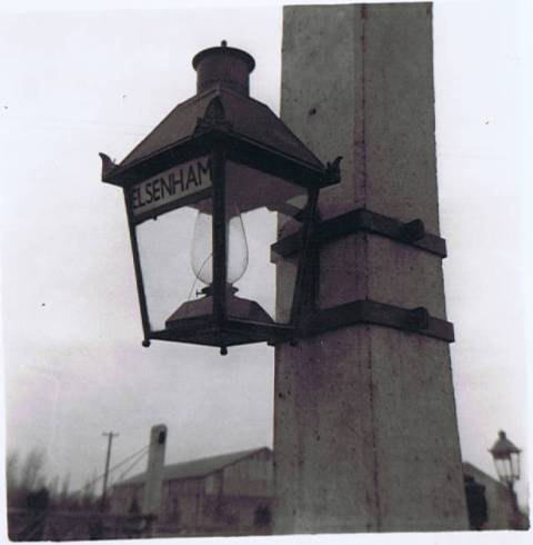 Lamp at Elsenham Station