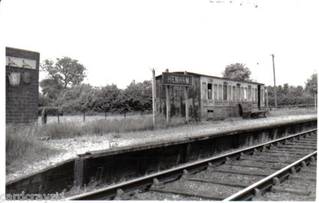 Henham Halt Sttation