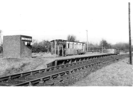 Henham Station in the 1950s