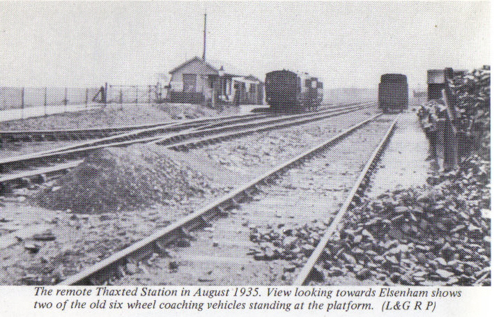 Leaving Thaxted 1935
